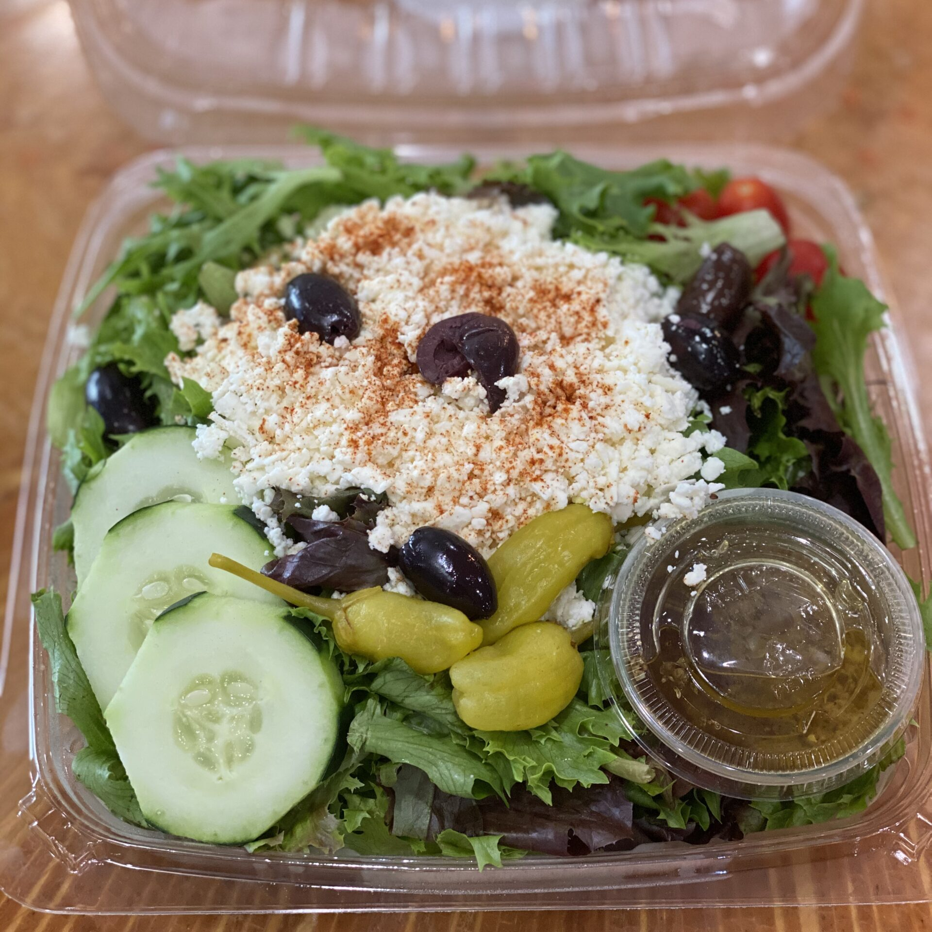Greek Salad Open